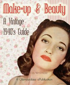 1940s makeup style glamourdaze 3 1940s makeup pinterest ann es 40 coiffures et annee. Black Bedroom Furniture Sets. Home Design Ideas