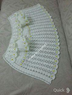 selma selma Crochet Designs, Baby Girl Crochet, Crochet Baby Clothes, Crochet For Kids, Baby Vest, Baby Cardigan, Crochet Lace, Crochet Stitches, Baby Knitting Patterns