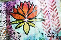lily pad arts and crafts for kids | You can watch the process below in just about 3 minutes of fast ...