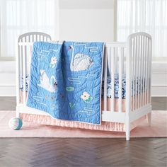 Shop Swan Crib Beddi