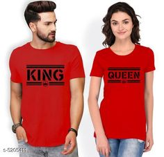 Couple Tshirts  Stylish Printed Couple T-shirts Fabric: Men Tshirt - Cotton Blend Women Tshirt - Cotton Blend Sleeves: Half Sleeves Are Included Size: Women : Tshirt - S - 36 in M - 38 in  L - 40 in  XL - 42  XXL - 44 in  Boy Tshirt - S M L XL XXL (Refer Size Chart  For Details) Length: Women Tshirt  : S - 25 in M - 26 in  L - 27 in  XL - 28  XXL - 29 in Men Tshirt -  S  M  L  XL XXL(Refer Size Chart) Type: Stitched Description: It Has 1 Piece Of Men's T-shirt & 1 Piece Of Women's T-shirt Work - Printed Country of Origin: India Sizes Available: MEN - S/ WOMEN - S, MEN - M/ WOMEN - S, MEN - L/ WOMEN - S, MEN - XL/ WOMEN - S, MEN - XXL/ WOMEN - S, MEN - XS/ WOMEN - M, MEN - S/ WOMEN - M, MEN - M/ WOMEN - M, MEN - L/ WOMEN - M, MEN - XL/ WOMEN - M, MEN - XXL/ WOMEN - M, MEN - S/ WOMEN - L, MEN - M/ WOMEN - L, MEN - L/ WOMEN - L, MEN - XL/ WOMEN - L, MEN - XXL/ WOMEN - L, MEN - S/ WOMEN - XL, MEN - M/ WOMEN - XL, MEN - L/ WOMEN - XL, MEN - XL/ WOMEN - XL, MEN - XXL/ WOMEN - XL, MEN - S/ WOMEN - XXL, MEN - M/ WOMEN - XXL, MEN - L/ WOMEN - XXL, MEN - XL/ WOMEN - XXL, MEN - XXL/ WOMEN - XXL   Catalog Rating: ★4 (421)  Catalog Name: Stylish Printed Couple T-shirts CatalogID_770255 C79-SC1940 Code: 134-5205411-1701