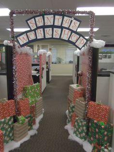 b81daf2501efbb5d41364f6f61819870jpg 736981 office xmas decorations christmas party decorations - Christmas Themes For Work
