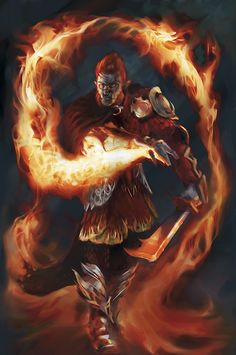 Fire! troll mage