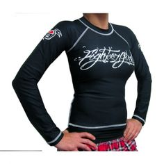 women's MMA rash guard