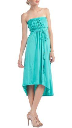 Faith Dress in Jade