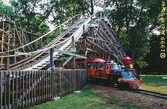 Williams Grove Amusement Park Today | The Train ride runs through open areas of the park including a trip ...