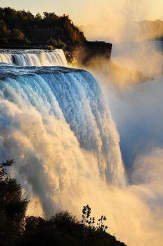 Ниагарский водопад, штат Нью-Йорк