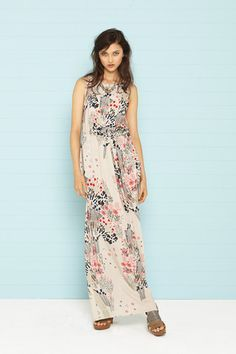 Kate Sylvester - Poppy Dress Maxi in Black or Sand