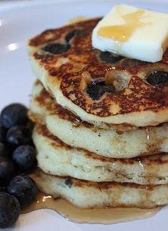 Gluten Free Blueberry Buttermilk Pancakes