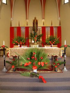Church Altar Decorations   Decoration Love