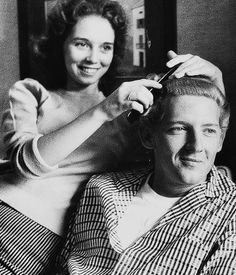 Myra and Jerry Lee, during Weekend Magazine, interview. July 3, 1958  Roger Melvin cousin to Jerry lee Lewis