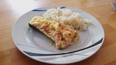 Gefüllte Zucchini mit Frischkäse, ein raffiniertes Rezept mit Bild aus der Kategorie Gemüse. 110 Bewertungen: Ø 4,1. Tags: einfach, Gemüse, Hauptspeise, kalorienarm, Schnell, Überbacken, Vegetarisch