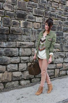 Zara Aztec Sweater