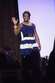 Simone Biles Photos - 35th Annual Salute to Women in Sports Reception - Zimbio