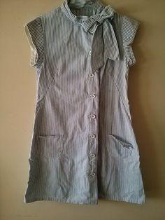 Vintage Retro Diner Waitress Baker Uniform by LuckyCatCollective