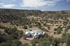 Element House is a minimalist residence located in New Mexico, USA, designed by MOS Architects.