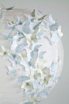 Papier Wand 3D Schmetterling 3D Wall-Art