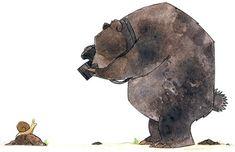 bear Illustration Manga, Cute Art, Cartoon Bear, Bear Drawing, Inspiration Artistique, Bear Art, Picture Photo, Jolies Images, Mishka