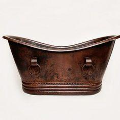 World CopperSmith Copper Bathtub