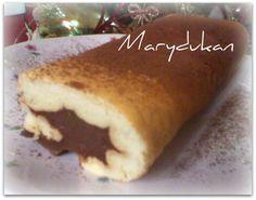 Marydukan: Rotolo dolce senza tuorlo cotto in padella.