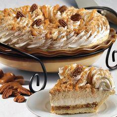Our weekend plans…Caramel Pecan Pumpkin Mousse Pie!