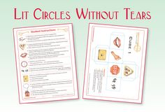 Fun and Easy Literature Circles: Illustrated Student Instruction Sheets, Participation Guides and Cube Templates - based on BLOOM'S TAXONOMY - add excitement to group discussions. (priced item)