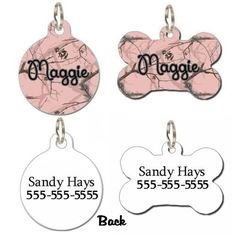 PERSONALIZED-DOG-ID-TAG-PET-ID-TAG-PINK-CAMO