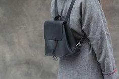 Кожаный рюкзак Divalli B0011