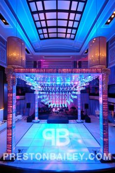 Divine Dancefloors Preston Bailey, Wedding Altars, Wedding Ceremony, Dance Floor Wedding, Dance Themes, Dance The Night Away, Event Photos, Crystal Wedding, Luxury Wedding