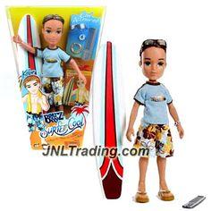MGA Entertainment Bratz Boyz Surfer Cool Series 10 Inch Doll - KOBE with…