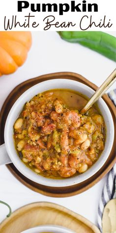 Temperature drops mean chili is on the menu at least once a week. This Pumpkin White Bean Chili has been my absolute favorite for a hearty and healthy weeknight meal that comes together in just 30-minutes.