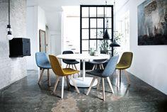 Eyes Wood Chair by Johannes Foersom & Peter Hiort-Lorenzen for Erik Jørgensen