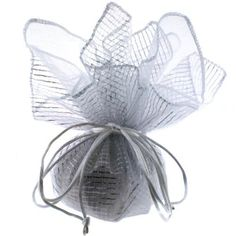 10 Designer Organza Fabric Gift Bags Pouches Party Favor Gifts Packaging Metallic Silver Bucasi,http://www.amazon.com/dp/B0043GASQS/ref=cm_sw_r_pi_dp_VduOrbC4DC2F4EAE