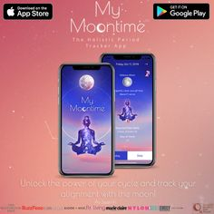 My Moontime Period Tracker Period Tracker App, App Store Google Play, Cosmos, Flow, Feminine, How To Get, Learning, Girly, Universe