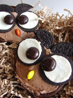 A Cute Hoot Open Faced Whoopie Pies from @katrinaskitchen
