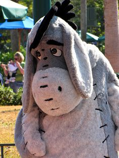 Eeyore by disneylori, via Flickr