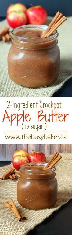 The Busy Baker: Crock-Pot Apple Butter