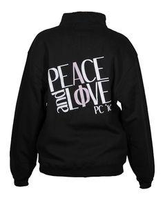 Alpha Phi Peace & Love Half-Zip