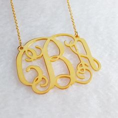 Small Gold Monogram Necklace,Gold Initial Monogram inch Personalized Necklace,Nameplate N Personalized Gold Necklace, Initial Necklace Gold, Nameplate Necklace, Letter Necklace, Personalized Wedding, Monogram Earrings, Monogram Jewelry, Monogram Initials, Letter Monogram