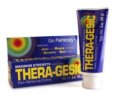 this is perfect for my sore muscles!  @theragesic