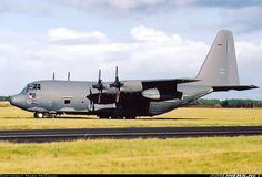Lockheed HC-130N Hercules, US Air Force, 93-2105, cn 382-5388, built 1994. Foto: Leuchars, United Kingdom, 2003.