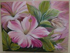 pintura de flores em madeira passo a passo - Pesquisa Google