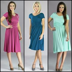 The Lillian Dress  www.mikarose.com