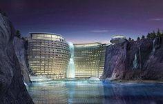 Shimao Wonderland International - China's above surface AND underwater resort is on track