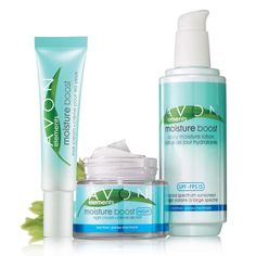 Avon Elements Moisture Boost Trio for Normal Skin- A skin-quenching trio for winter-dry skin. Trio includes:Eye CreamEye area feels hydrated and refreshed for hours. Regularly $12.99, buy Avon Skincare online at http://eseagren.avonrepresentative.com