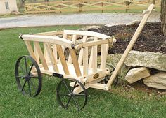 Great ideas for Amish wagons!