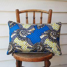 Afua - African wax print cotton cushion | Maker  Merchant