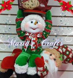 Valeria R Pisaturo's media content and analytics Elf On The Shelf, Snowman, Diy And Crafts, Lily, Dolls, Christmas Ornaments, Holiday Decor, Content, Google
