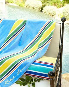 """Sag Harbor Beach Towel, 40"""" x 70"""""""