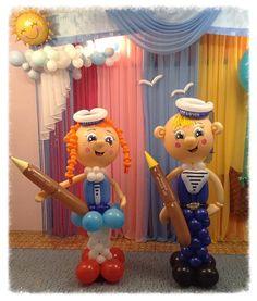 """улыбка-это кривая,которая выпрямляет многое:) - Фигуры, мультперсонажи - Клуб """"Воздушные шары"""" Balloon Crafts, Balloon Decorations, Balloons, Sculpture, Party, Dolls, Globe Decor, Boyfriends, Decorations"""